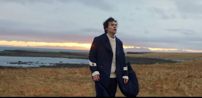 Harry Styles in 'Sign Of The Times'