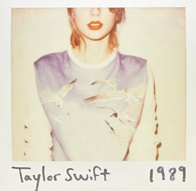 Taylor Swift's original '1989' album cover.