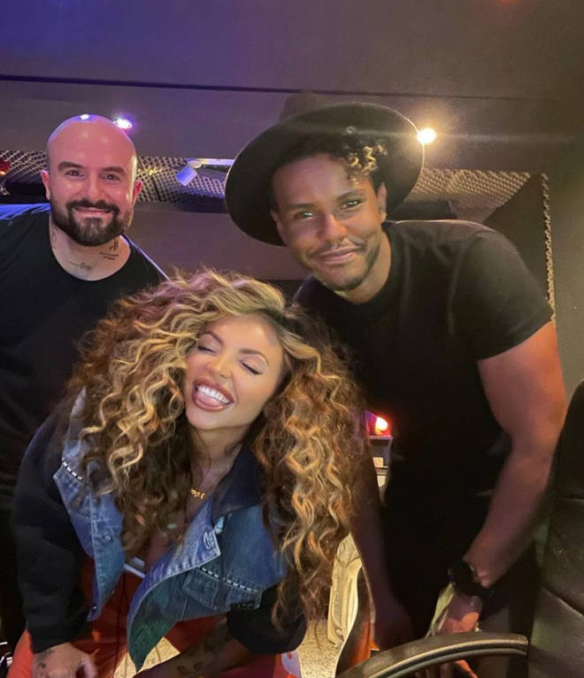 Jesy Nelson has been in the studio creating music for her solo career.