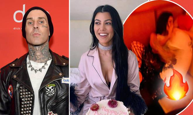 Travis Barker shared some seriously steamy posts for Kourtney Kardashian's birthday