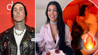 Travis Barker shared some seriously steamy posts for Kourtney Kardashian's birthday