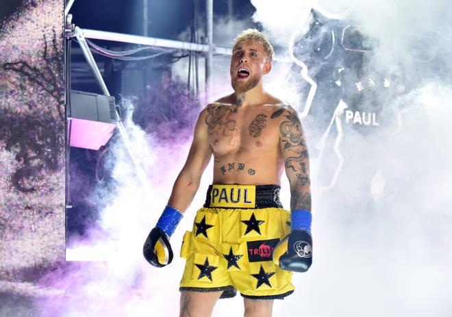 Jake Paul knocked out Ben Askren in the first round of their fight.
