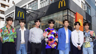 McDonald's have teamed up with BTS