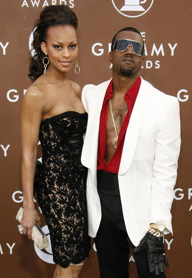 Kanye West and Brooke Crittendon were in a relationship in 2005.