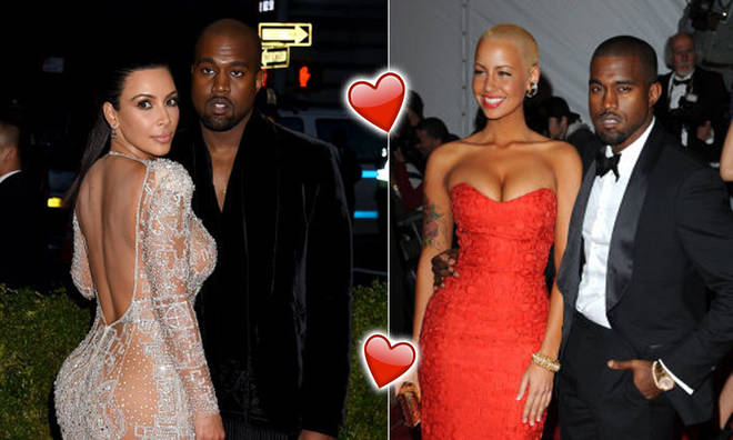 Kanye West's dating history before Kim Kardashian uncovered.