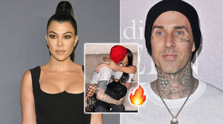 Kourtney Kardashian gave Travis Barker 'permission' to share her birthday PDA posts.