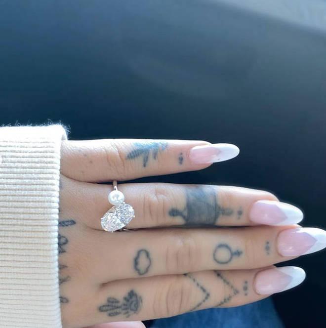 Dalton Gomez proposed to Ariana Grande in December 2020.