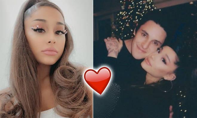 Dalton Gomez shared a sweet, rare picture with Ariana Grande.