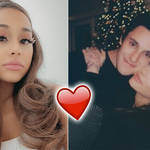 Dalton Gomez shared a sweet, rare picture with Ariana Grande.