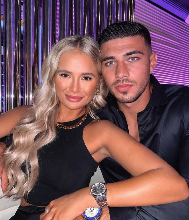 Molly-Mae Hague and Tommy Fury live together in Cheshire
