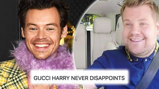 Harry Styles and James Corden's 'Gucci talk show' is everything