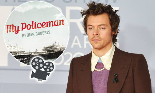 The production for My Policeman is underway, starring Harry Styles, Emma Corrin and David Dawson.