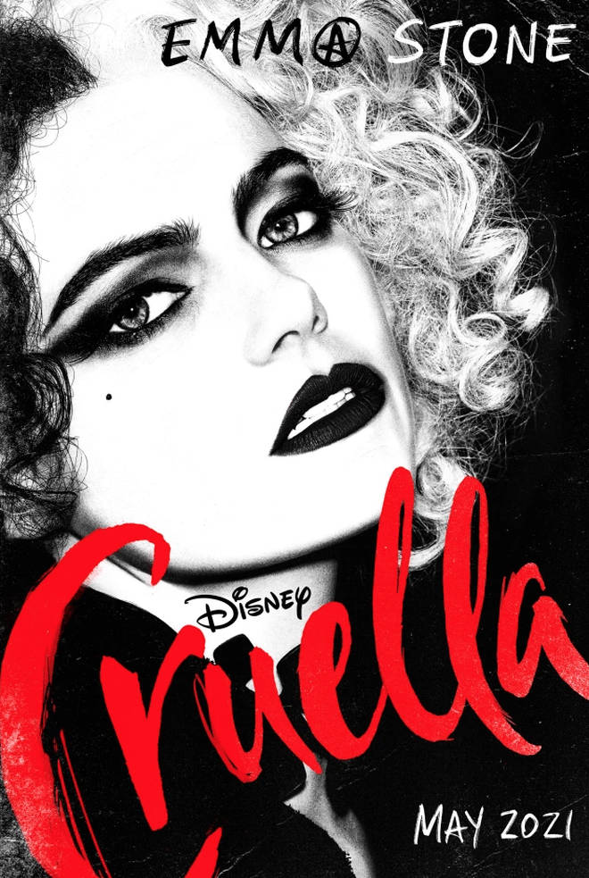 Disney's Cruella will be released in May.