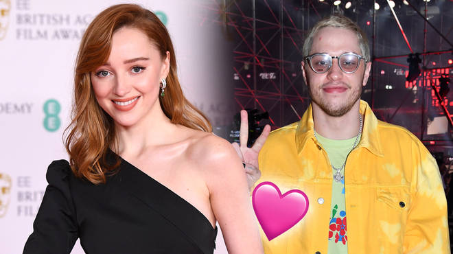Phoebe Dynevor and Pete Davidson have confirmed they're in a relationship