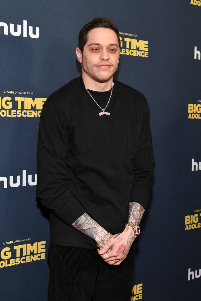 Pete Davidson was previously engaged to Ariana Grande