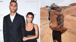 Kourtney Kardashian's ex Younes Bendjima denied throwing shade at her