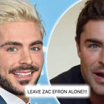 Zac Efron fans rally round actor after 'altered face' sparks surgery rumours