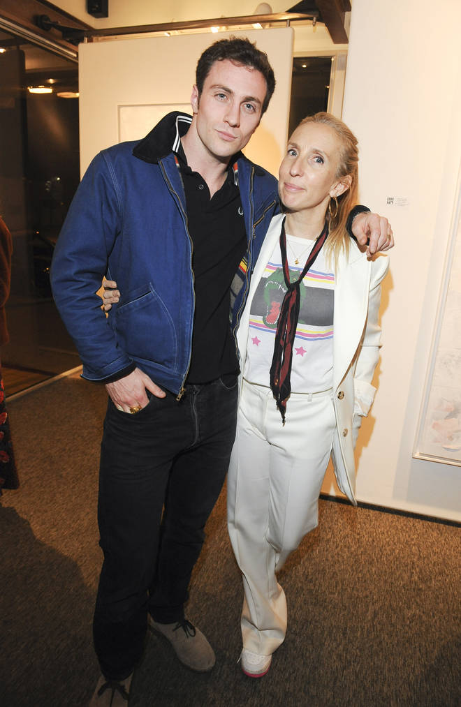 Sam Taylor-Johnson and Aaron met in 2008