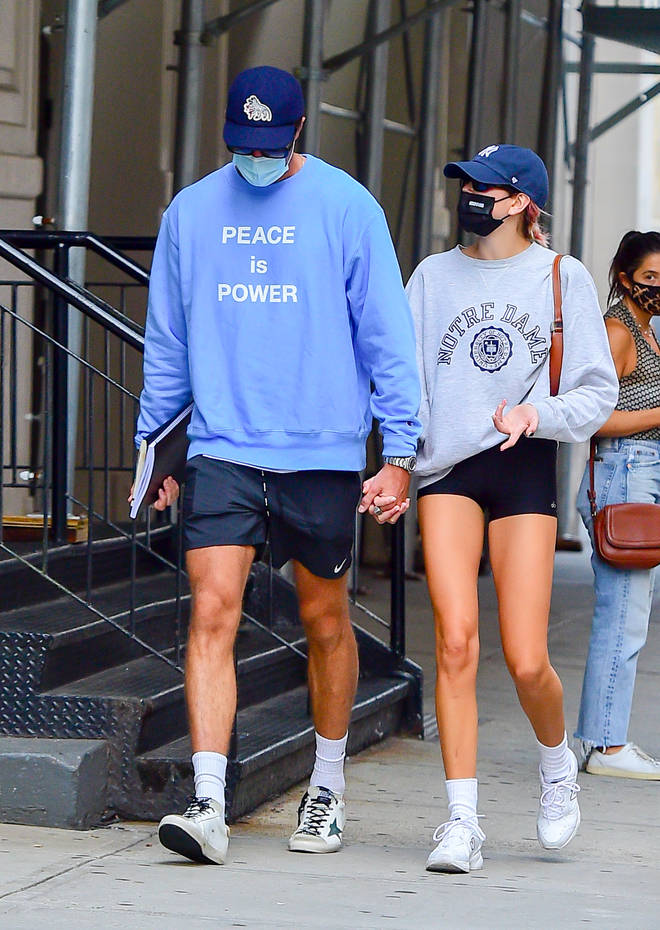 Jacob Elordi is currently dating Kaia Gerber.