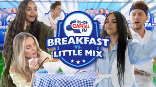 Little Mix took on Capital Breakfast with Roman Kemp in a Sport's Day
