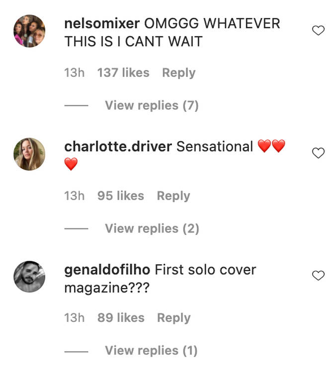 Fans are excited for Jesy Nelson's solo career.