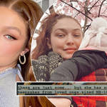 Gigi Hadid has given fans an unseen glimpse into her baby shower last summer.