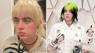 Billie Eilish got her first tattoo in 2020
