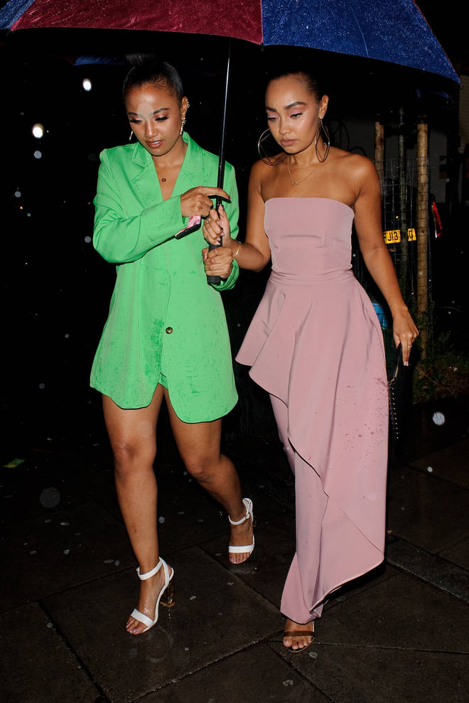Leigh-Anne Pinnock and her sister Sairah are both pregnant at the same time.