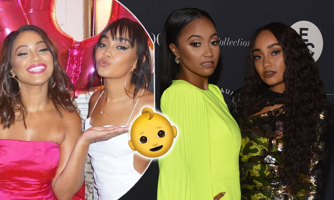 Leigh-Anne Pinnock and her big sister Sairah are both expecting babies!