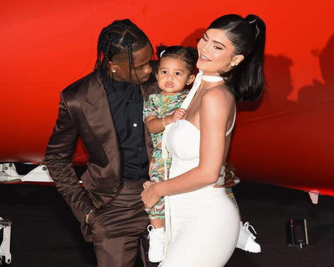 Kylie Jenner and Travis Scott co-parent three-year-old Stormi.