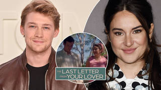 Joe Alwyn and Shailene Woodley star in The Last Letter From Your Lover.