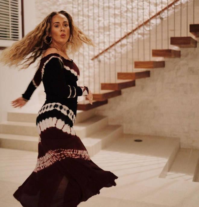 Adele celebrated turning 33 years old.