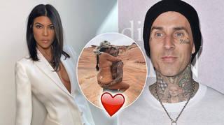 Kourtney Kardashian and Travis Barker's romance has been getting serious.