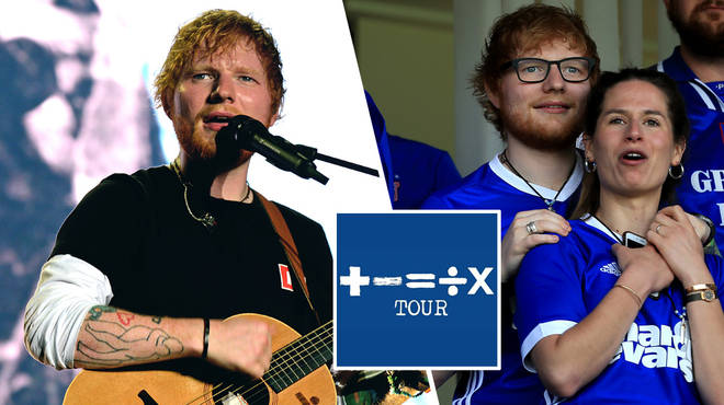 Ed Sheeran seemed to announce a tour and album as he became the sponsor of Ipswich Town FC