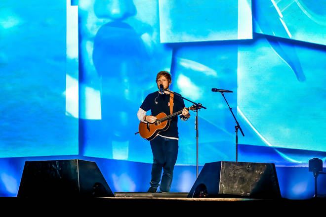 Ed Sheeran seemed to announce a greatest hits tour