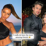 Maura Higgins is being comforted by her Love Island co-stars after splitting from Chris Taylor