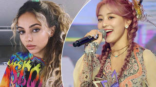 Jade Thirlwall and TWICE's Jihyo worked together on a new song for the K-Pop group's album.