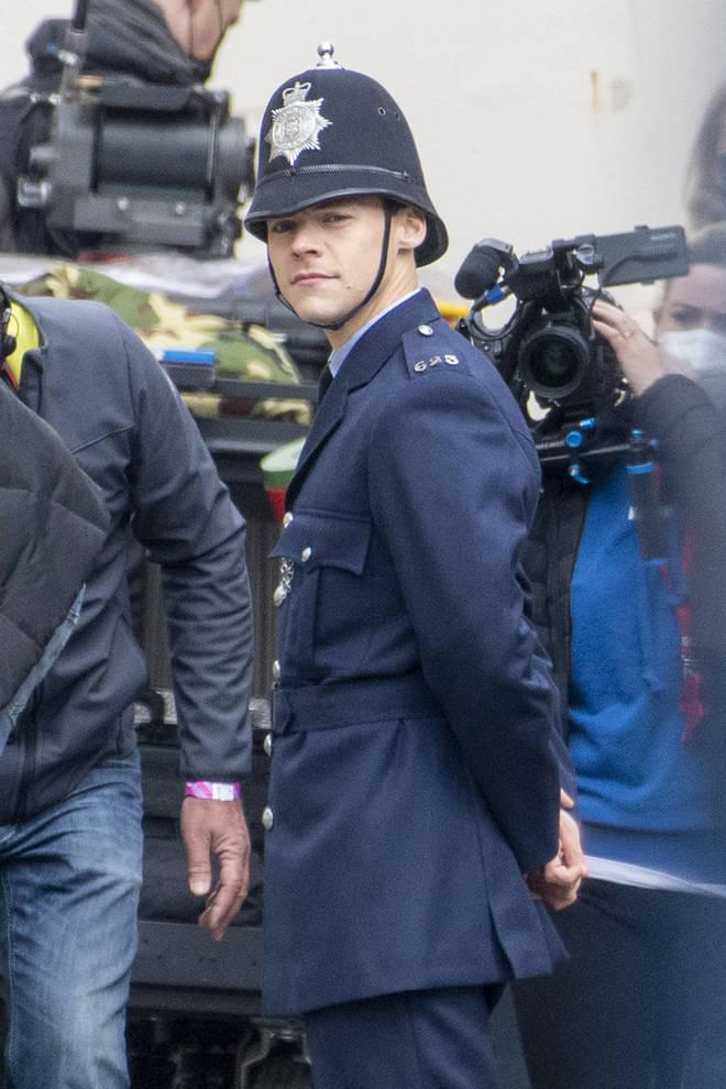 Harry Styles' policeman costume sent fans wild
