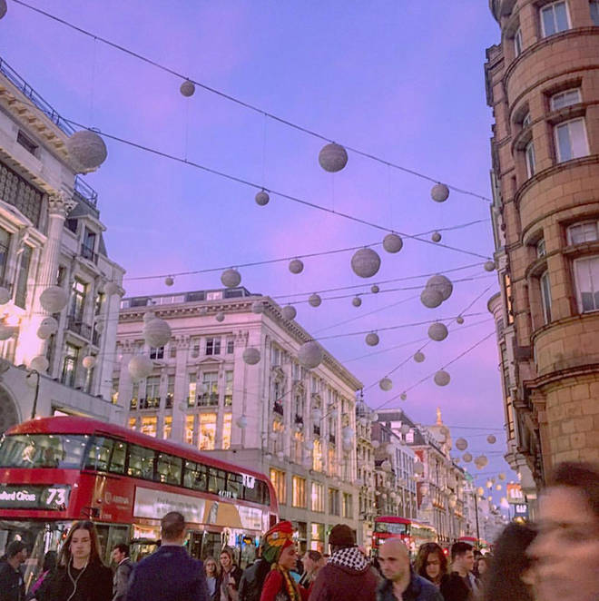 Capital XTRA are taking over the Oxford Street Christmas Lights for 2018