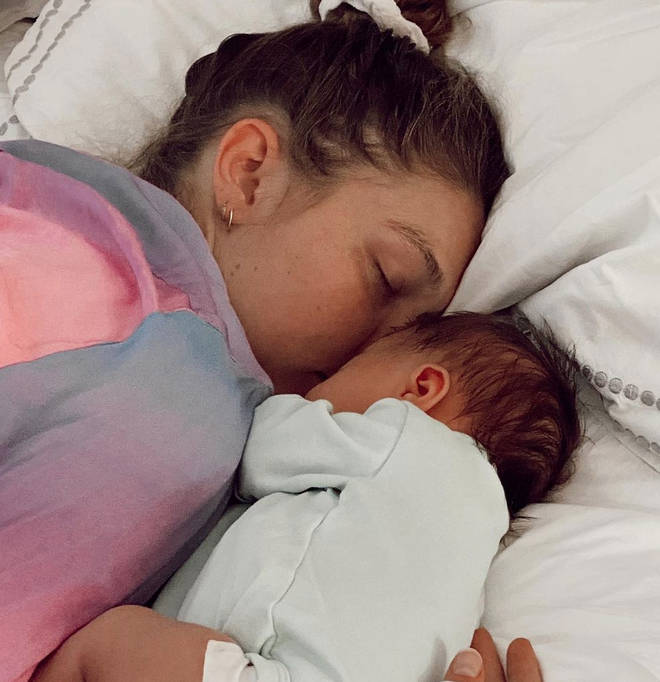 Gigi Hadid shared never-before-seen photos of her daughter, baby Khai.