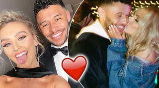 Perrie Edwards and Alex Oxlade-Chamberlain are expecting their first baby together.