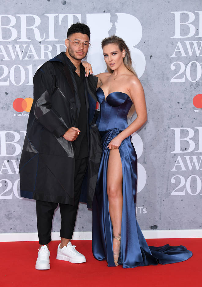 Perrie Edwards and Alex Oxlade-Chamberlain started dating in 2016