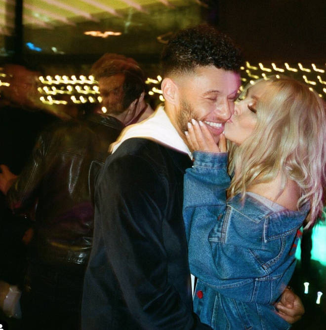 Perrie Edwards is pregnant with her first baby with boyfriend Alex Oxlade-Chamberlain.