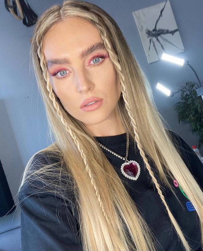 Little Mix's Perrie Edwards is pregnant with her first baby.