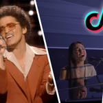 Bruno Mars and Olivia Rodrigo are among the stars with songs that have taken over TikTok