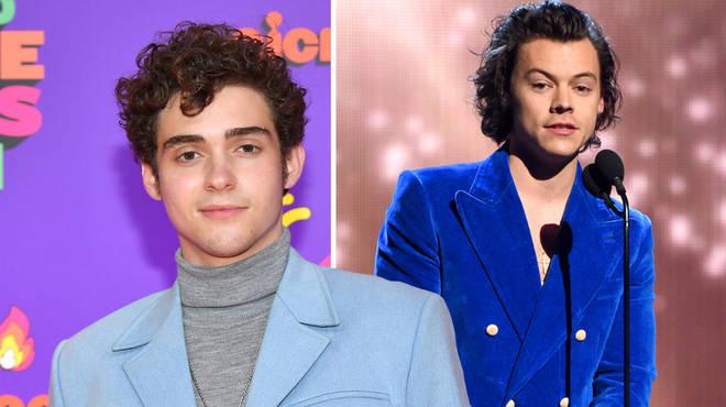 Joshua Bassett praised 'hot' Harry Styles