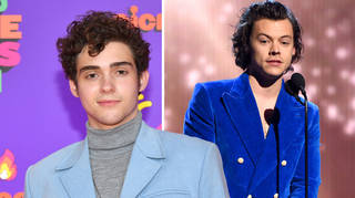 Joshua Bassett praised 'hot' Harry Styles