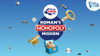 Roman's Monopoly Mission helps support Global's Make Some Noise