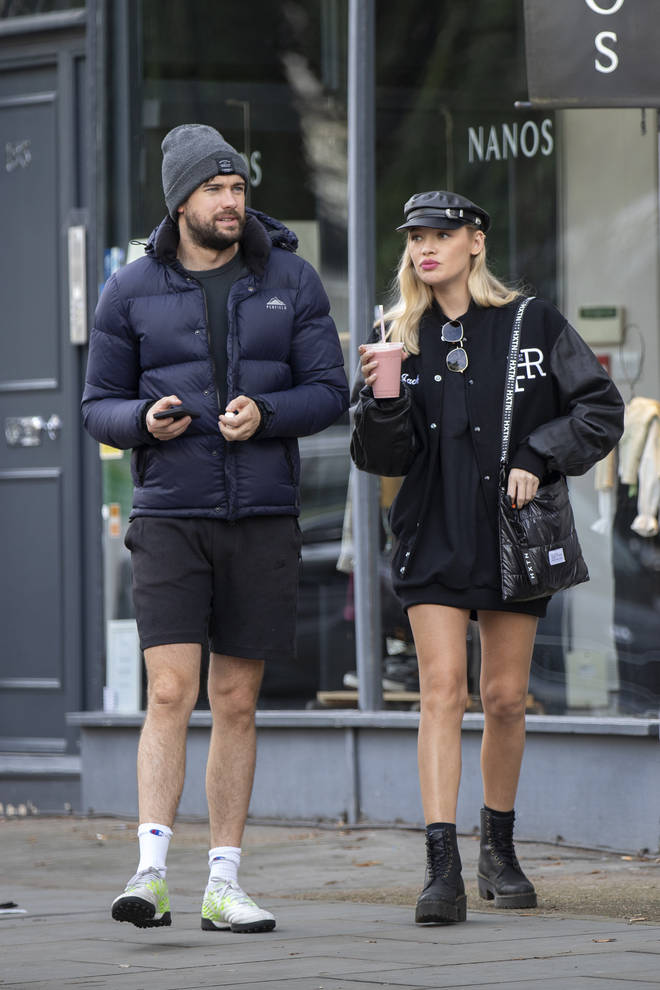 Jack Whitehall has been dating Roxy Horner for over a year.