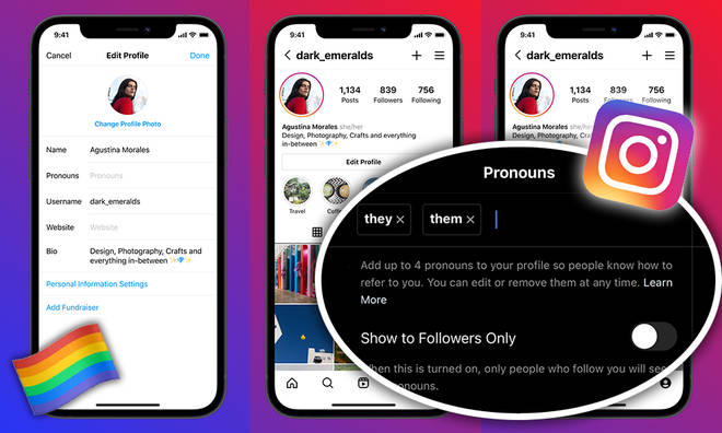 How To Update Instagram Pronouns On The App